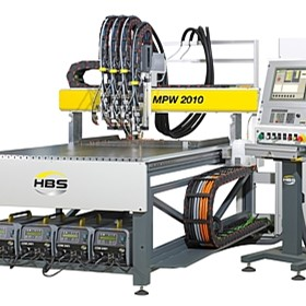 Fully Automatic Stud Welding Machines | HBS MPW 1010/2010/3015