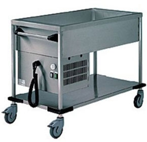 Refrigerated Delivery Trolleys | Rieber ZUB 2-K