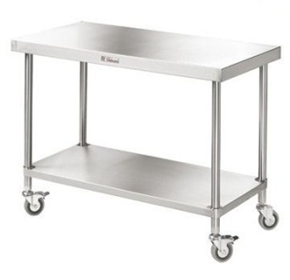 Mobile Work Bench | Simply Stainless SS03.0600/2400