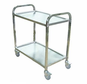Stainless Steel Food Tray Trolleys | A.C.E.S