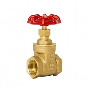 BSP Threaded Brass Gate Valve