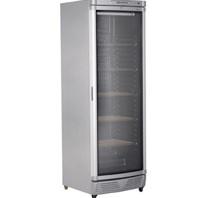 345L Curved Glass Door Wine Chiller/Preserver | WC0400C-LED