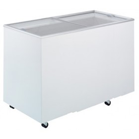 401L Flat Top/Flat Glass Chest Freezer | CF0400FTFG
