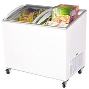 264L AngleTop/Curved Glass Chest Freezer | CF0300ATCG
