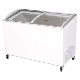 555L AngleTop/Curved Glass Chest Freezer | CF0600ATCG