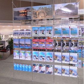 Suspended Literature Display System | ADS