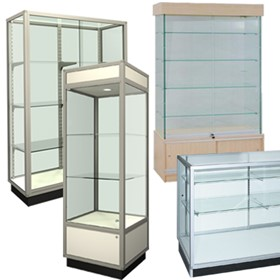 Lockable Glass Showcases | Custom Made Style