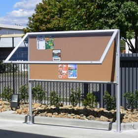 Outdoor Notice Boards | Weatherpro