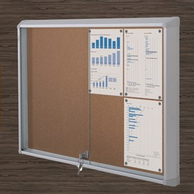 Sliding Door Message Board | Slidepro