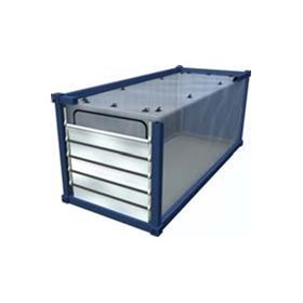 PE 1002 Zipper Loading Gate Container Liner | Caretex
