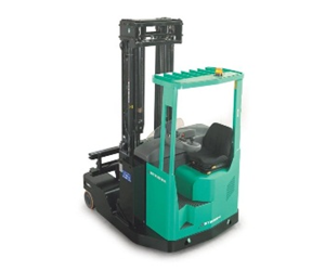 The RBMK can travel forward, backward, sideways, diagonally or rotate as well as lift and lower the load.