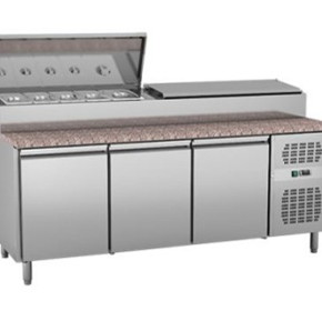 Underbench Sandwich Preparation Chiller Fitout | EXQUISITE MTC360