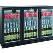Back Bar 330L Glass Door Chillers | Bromic BB0330GD