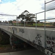 Galvanised rails ensure pedestrian safety at Melb rail extension