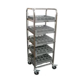 Glassware Rack Trolley | G&K RDTGW