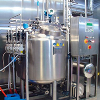 CIP installation for pharmaceutical plants