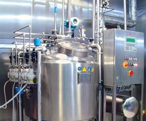 A CIP installation ensures that pharmaceutical plants are cleaned without leaving residue.
