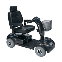 Heavy Duty 10kph 4 Wheel Mobility Scooter | Invacare Comet HD