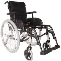 Folding Manual Wheelchair | Invacare Action3NG