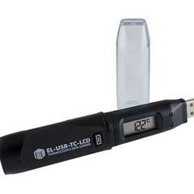 USB Thermocouple Data Logger, LCD, Battery - EL-USB-TC-LCD