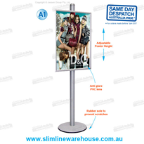 Poster Display Stands with A0, A1 & A2 Frames | Slimline Warehouse