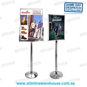 A4, A3, A2 & A1 Steel Poster Stand Holders