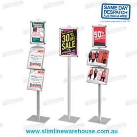 Modular Leaflet & Poster Display