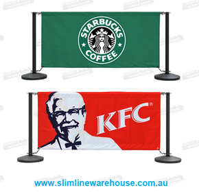 Cafe Barriers & Screens | Slimline Warehouse