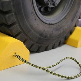 Wheel Chocks | Cribbing & Matting Co.