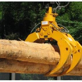 Hydraulic Timber Grab | Smag
