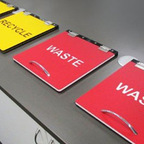 Multi Colour HDPE Signs | Allplastics