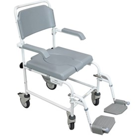 Bewl Attendant Propelled Shower Commode Chair | VB502