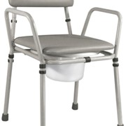 Flat Packed Height Adjustable Commode Chair | Essex VR161G