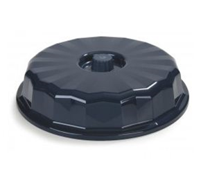 High-Temp Entree Dome Plate Cover | Dinex® Tropez
