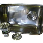 90mm sink swaging with hydraulic hole punch
