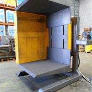 Used Dual Clamp Free Standing Pallet Inverter | Optimum