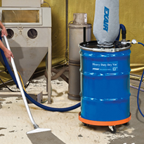Compressed Air Powered Heavy Duty Dry Vacs | Vacuum Cleaners