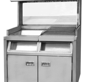 Freestanding Large Fry Station | VF-10