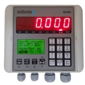 IQ300 Wall Mount Load Cell Display - Instrotech Aus