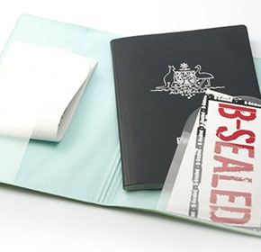 RFID Blocking Passport Wallets | B-Sealed