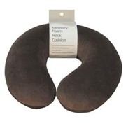 Brown Orthopaedic Memory Foam Neck Cushion | VM936AB
