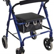 Blue Deluxe Lightweight Rollator | VP177