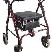 Red Deluxe Lightweight Rollator | VP176