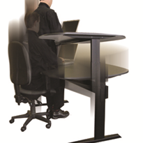 Electric height adjustable desks for engineers, draftsman, designers