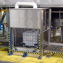 Hazardous chemical filling machine increases safety and efficiency