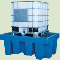 Polyethylene Single IBC Spill Pallet | SRPSRB001