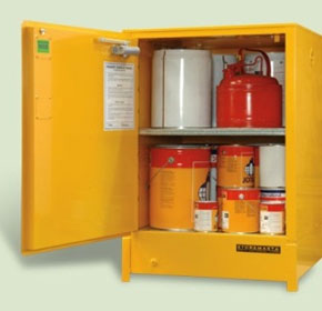 160L Heavy Duty Flammable Liquid Storage Cabinet | SRPS160
