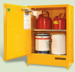 80L Heavy Duty Flammable Liquid Storage Cabinet | SRPS080