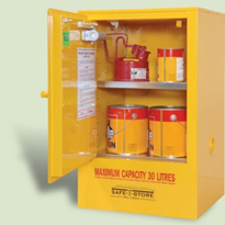 30L Under Bench Flammable Liquid Storage Cabinet | SRSC030