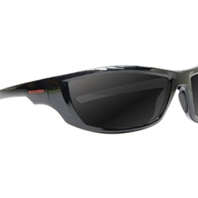 Black Smoke Safety Glasses | Scorpion 522SBSD